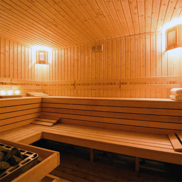 Sauna - Perzcourt - siłownia, fitness and tennis club